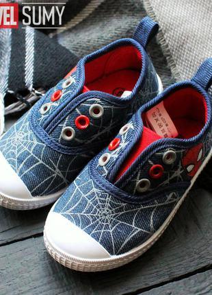 Детские кеды человек - паук марвел, spider-man marvel😍
