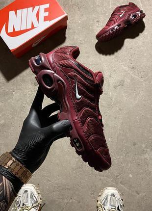 Nike air max tn plus burgundy