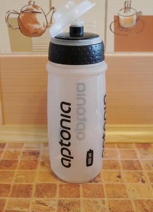 Бутылка из мягкого пластика для воды, сока, компота 0,6 л