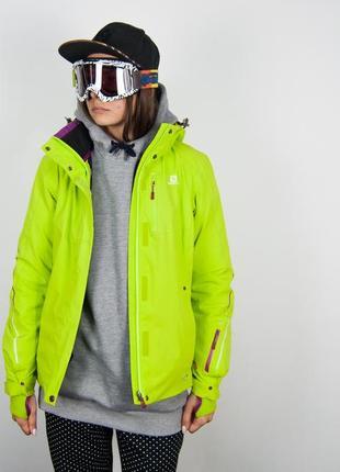 Горнолыжная куртка salomon для лыж\сноуборда мембранная