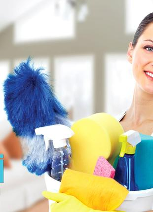 Профессиональный клининг, уборка квартир, офисов, вынос стройм...