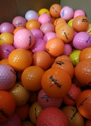 Цветной гольф мяч