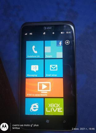 """HTC Titan PI86100 4.5"""" GSM ! 16GB Windows Phone из США.Новый !"""