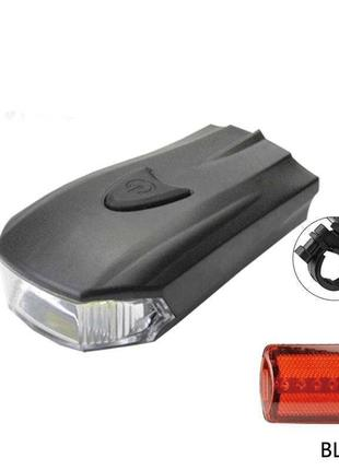 Фонарик велосипедный BL 508 COB фонарь для велосипеда Фара Габ...