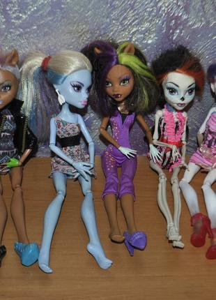 Коллекционные куклы Monster High (7 штук)