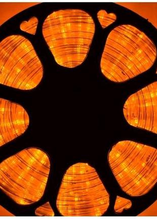 Шланг Дюралайт 100 м 2-х жильный желтый