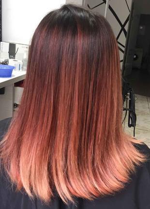 Окрашивание волос профессиональной краской