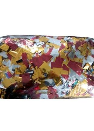 Конфетти Полоски фольга цветные 1 кг