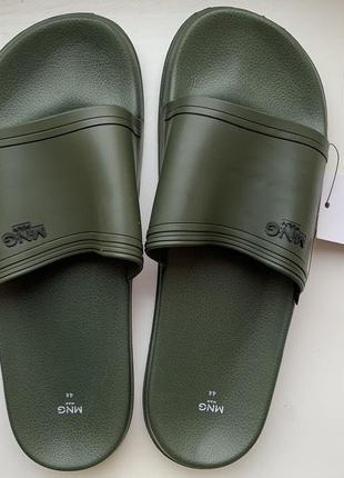 Чоловічі шльопанці, літнє взуття, пляжная обувь, 44 р. хаки.