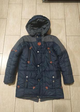 Куртка для мальчика очень теплая