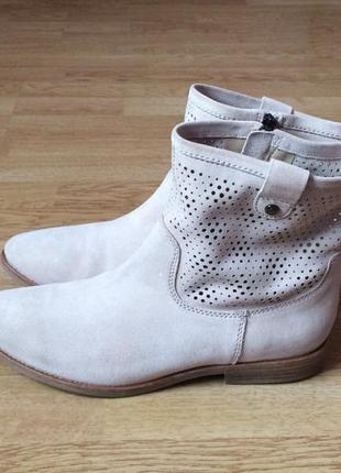 Замшевые ботинки geox 40 размера