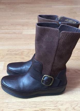 Кожаные ботинки fit-flop 36 размера