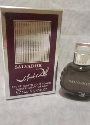 Salvador dali salvador pour homme туалетная вода 5мл