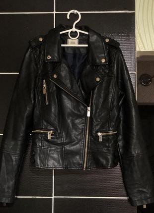Кожаная косуха куртка pimkie размер м