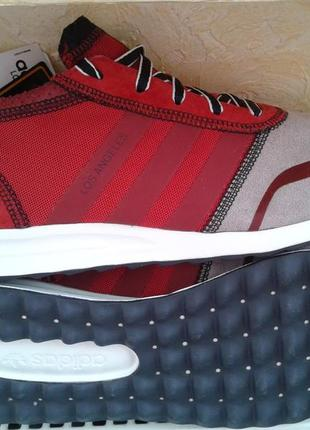 "Кроссовки adidas los angeles ""rust red"" ultraboost support jog..."