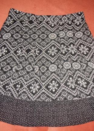 Легкая юбка bonmarche p.20 батал