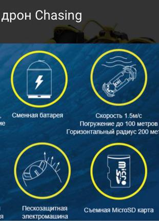 Подводный дрон CHASING m2