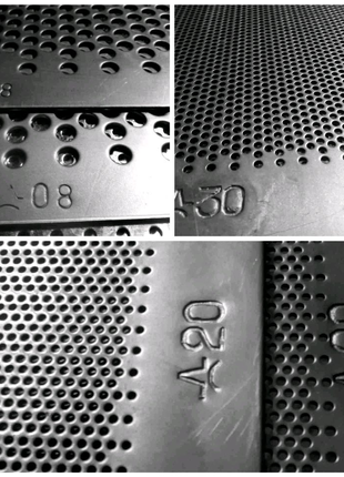 РЕШЕТО к дробилки Сито 388х663х2 мм D 3,4,5,6,8 мм.молотки Бичи к