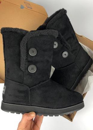 Skechers keepsakes ботинки угги черные 37 размер ( 24 см) ориг...