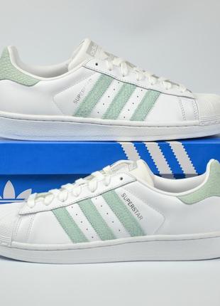 Adidas superstar premium кроссовки адидас оригинал белые