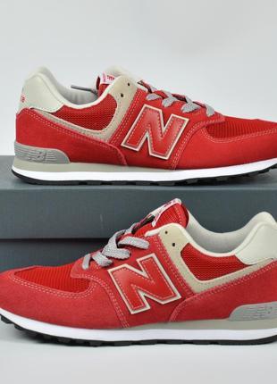 Nеw bаlаnсе 574 red кроссовки нью беленс красные оригинал