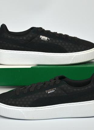 Puma basket platform de кроссовки пума оригинал