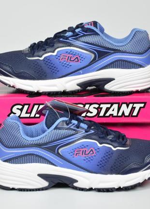 Fila memory runtronic slip resistant кроссовки фила для спорта...