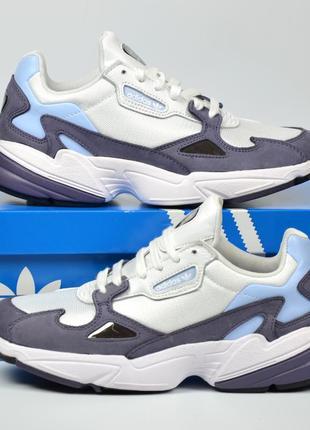 Adidas originals falcon кроссовки адидас фалкон оригинал белые