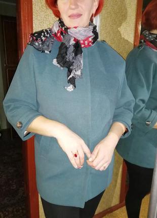 Пальто демисезонное кашемир