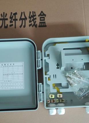 PON box  16 клиентов под кассетные делители