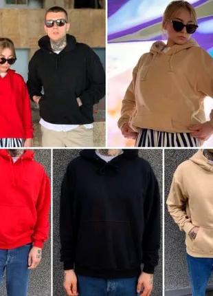 Мужские и женские oversize худи, кофты с капюшоном. Теплые и плот