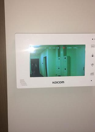 Установка видеодомофонов и электромеханических замков