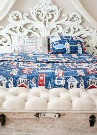 Комплект постельного белья Prestige двуспальный 175х215 см лондон