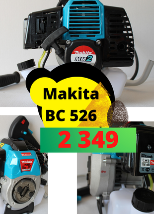 Бензокоса Makita bc 626 мотокоса триммер косилка макіта косарка м