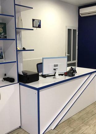 Офіс з ремонтом та меблями