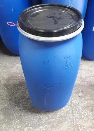Бочка малая пластиковая   синяя