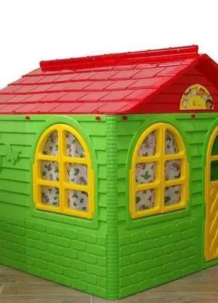 Акція! Игровой детский пластиковый Домик. Ігровий будинок 129*129