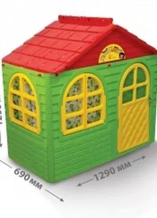 Будинок ігровий пластиковий, детский игровой домик пластиковый