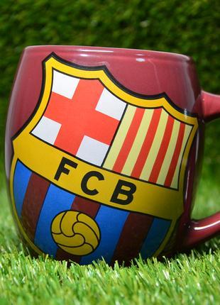Керамическая чайная чашка ФК Барселона (FC Barcelona)