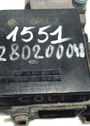 Расходомер воздуха (ДМРВ)Volkswagen Golf , Polo Bosch 0 280 20...