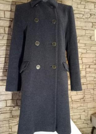 Женское пальто кашемир и шерсть, оверсайз