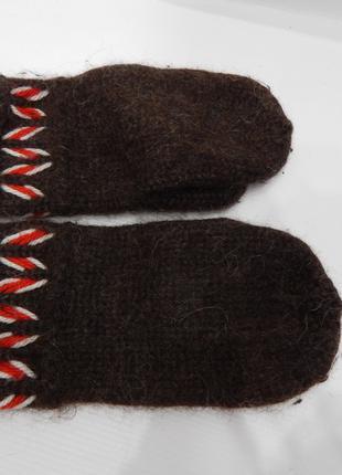 Варежки женские вязанные теплые р.М-L (7,5) 098PGZ