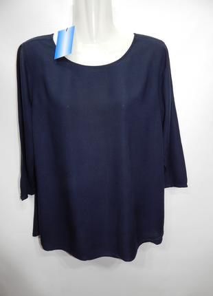 Блуза легкая фирменная женская TOM TAILOR р.46-48 141бж