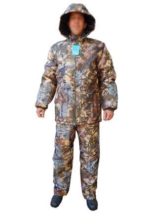 "Зимний костюм SkyFish, для рыбалки и охоты, ткань Саржа ""Елка"""
