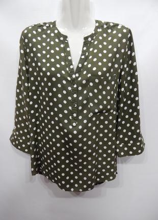 Блуза легкая женская PRIMARK р.50-52 152бж
