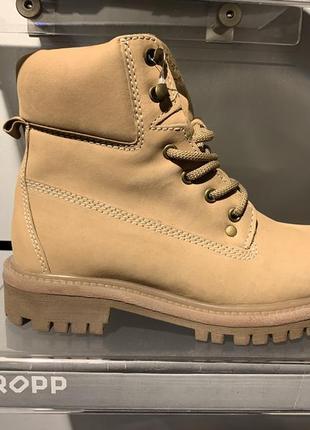 Зимние кожаные ботинки сапоги тимберленды cropp есть размеры