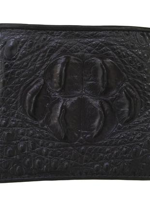 Кошелек портмоне бумажник гаманець из натуральной кожи крокодила