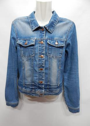 Куртка джинсовая женская ONLY Vintage, RUS р.44-46, EUR 36 064DG