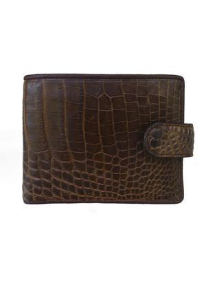 Кошелек портмоне гаманець бумажник из натуральной кожи крокодила