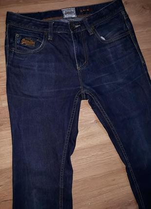 Крутые винтажные джинсы superdry